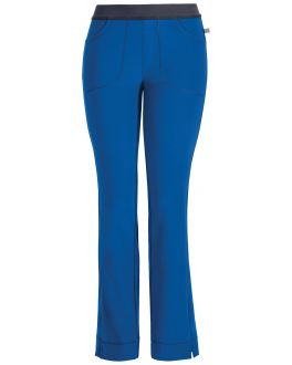 Cherokee Infinity Scrubs Women's PETITE Low-Rise Slim Pull-On Pant