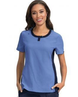 Koi Scrubs Women's Lotus Round Neck Top