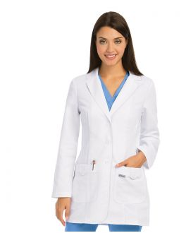 Grey's Anatomy Scrubs Female 32 In 2 Pkt Fitted Labcoat