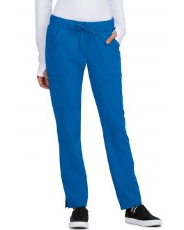 Betsey Johnson Scrubs Women's PETITE Buttercup Drawstring Pant