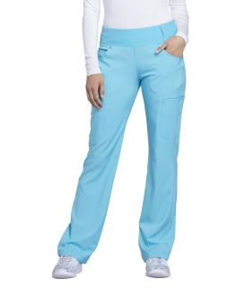 Cherokee iFlex Scrubs Women's Mid Rise Moderate Flare Pull-On Pant