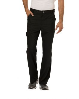 Cherokee WorkWear Scrubs Revolution Men's TALL Fly Front Pant
