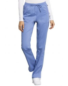 Cherokee Workwear Scrubs Women's PETITE Certainty Plus Drawstring Pant